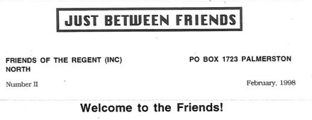 """""""In the Spotlight"""" - the magazine of the Friends of the Regent (Theatre)"""