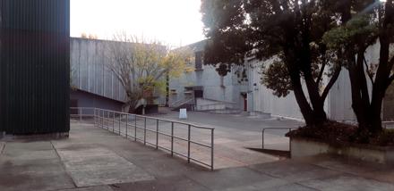 Central court yard, Massey University's Hokowhitu Campus