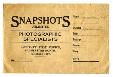 Snapshots Unlimited negative sleeve