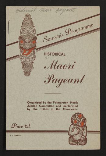 Historical Maori Pageant Souvenir Programme