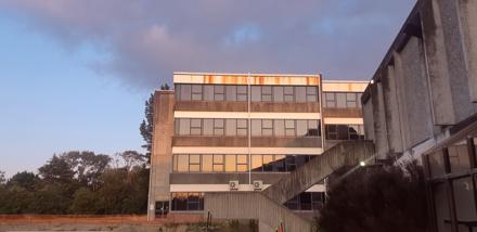 Awanui building, Massey University's Hokowhitu campus