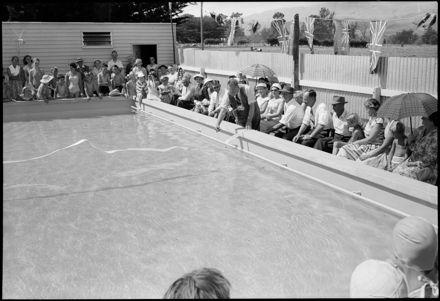 """Important Amenity Added to School"" - Ashhurst School Pool"