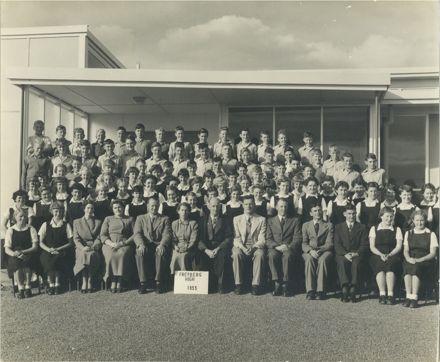 Students & Staff, Freyberg High School, 1955