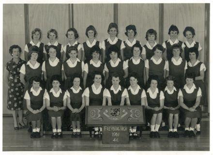 4th Form Class, Freyberg High School, 1961