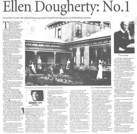 """Memory Lane - """"Ellen Dougherty: No.1"""""""