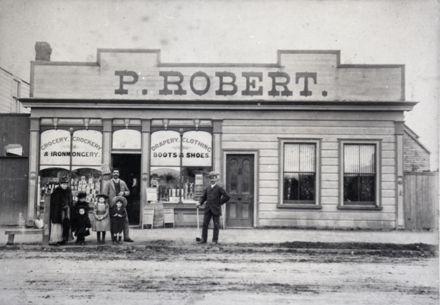 Percy Robêrt's General Store, Main Street