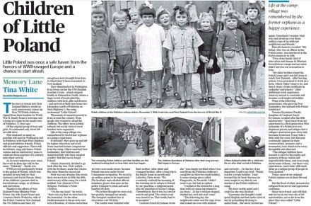 """Memory Lane - """"Children of Little Poland"""""""